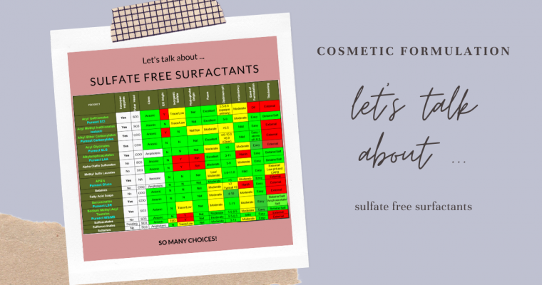 Sulfate-Free Surfactants